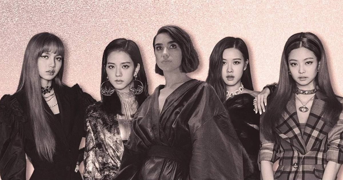 Oeh la la! Dat zingen Dua Lipa en BLACKPINK dus in Kiss And Make Up..