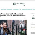 Marjolijn is interviewed by music app ForTunes
